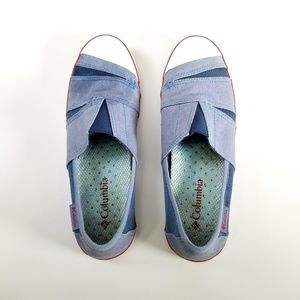 Columbia Shoes - Columbia Vulc N Vent Slip-on  Sneaker Sz 9.5